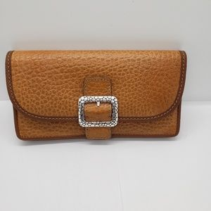 Brighton Collectibles  Leather Large Pocket Wallet